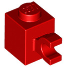 LEGO Red Brick 1 x 1 with Horizontal Clip (60476)