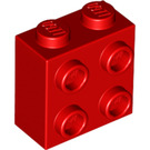 LEGO Red Brick 1 x 2 x 1.66 with Studs on 1 Side (22885)