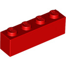 LEGO Red Brick 1 x 4 (3010)