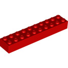 LEGO Red Brick 2 x 10 (3006 / 92538)