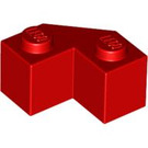 LEGO Red Brick 2 x 2 Facet (87620)