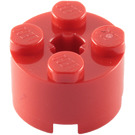 LEGO Red Brick 2 x 2 Round (3941 / 6143)
