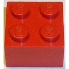 LEGO Red Brick 2 x 2 without Cross Supports