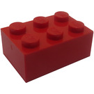 LEGO Red Brick 2 x 3 (Earlier, without Cross Supports)