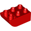 LEGO Red Brick 2 x 3 with Inverted Bow (98252)