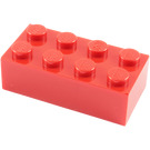 LEGO Red Brick 2 x 4 (3001)