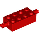 LEGO Red Brick 2 x 4 with Pins (6249)