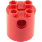 LEGO Brick Round 2 x 2 x 2 with Bottom Axle Holder 'x' Shape '+' Orientation (30361)