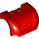 LEGO Red Car Mudguard 3 x 4 x 1.667 Curved (38224 / 93587)