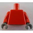 LEGO Red Castle Minifig Torso