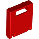 LEGO Red Container Box 2 x 2 x 2 Door with Slot (4346)