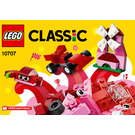 LEGO Red Creative Box Set 10707 Instructions