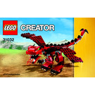 LEGO Red Creatures Set 31032 Instructions