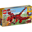 LEGO Red Creatures Set 31032 Packaging