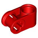 LEGO Red Cross Block 90° 1 x 2 (Axle/Pin) (6536 / 40146)