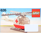 LEGO Red Cross Helicopter Set 626-2