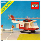 LEGO Red Cross Helicopter Set 6691