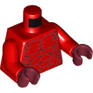 LEGO Crust Smasher - without Armor (30374) Minifig Torso (76382)