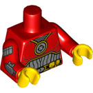 LEGO Red Deadshot Minifig Torso (88585)