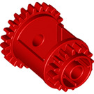 LEGO Red Differential Gear Casing (6573)