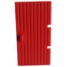 LEGO Red Door 1 x 4 x 6 Grooved (3644)