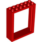 LEGO Red Door 2 x 6 x 6 Frame Freestyle (6235)