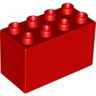 LEGO Red Duplo Brick 2 x 4 x 2 (31111)
