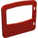 LEGO Red Duplo Door 1 x 4 x 3 with Large Window (4247)