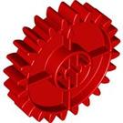 LEGO Red Duplo Technic Gear 4 x 4 (24 Teeth) (6529)