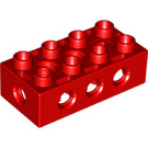 LEGO Red Duplo Toolo Brick 2 x 4 (76057 / 86595)
