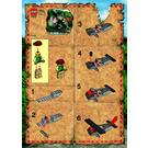 LEGO Red Eagle Set 7422-1 Instructions