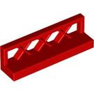 LEGO Red Fence Lattice 1 x 4 x 1 (3633)