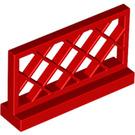 LEGO Red Fence Lattice 1 x 4 x 2 (3185)
