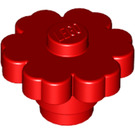 LEGO Red Flower 2 x 2 with Solid Stud with Solid Stud (98262)