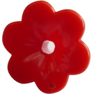 LEGO Red Flower with Rounded Petals (93081)