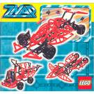 LEGO Red Formula 1 with Storage Set 3581 Instructions