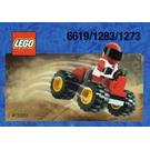LEGO Red Four Wheel Driver Set 1273
