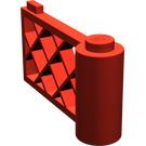 LEGO Red Gate 1 x 4 x 2