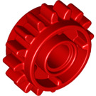 LEGO Red Gear Wheel Z16 with Ø.4,85 (18946)