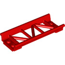 LEGO Red Girder 2 x 8 with Edges (26022)