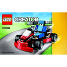 LEGO Red Go-Kart Set 31030 Instructions