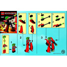 LEGO Red Good Guy Set 5967 Instructions
