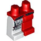 LEGO Red Harrington Minifigure Hips and Legs (3815 / 13901)