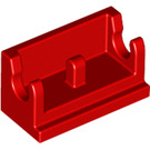 LEGO Red Hinge 1 x 2 Base (3937)