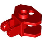 LEGO Red Hinge 1 x 2 Locking with Towball Socket (30396)