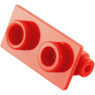 LEGO Red Hinge 1 x 2 Top (3938)