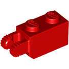 LEGO Red Hinge Brick 1 x 2 Locking with 2 Fingers (Vertical End) (30365)