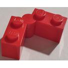 LEGO Red Hinge Brick 1 x 4 Assembly