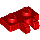 LEGO Red Hinge Plate 1 x 2 Locking with Dual Stub (50340 / 60471)
