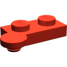 LEGO Red Hinge Plate 1 x 4 Top (2430)
